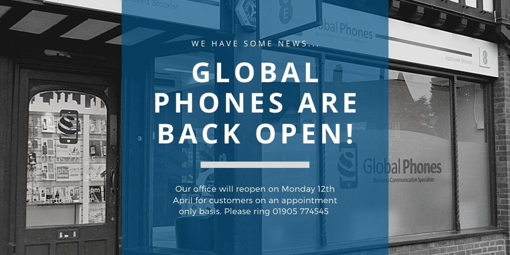 Global Phones Office reopening 12.4.21